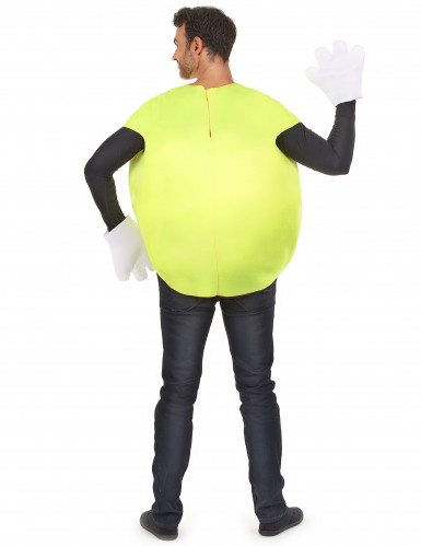 Bonbon-Kostüm in Gelb für Erwachsene-2