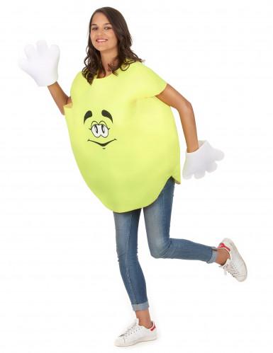 Bonbon-Kostüm in Gelb für Erwachsene-4