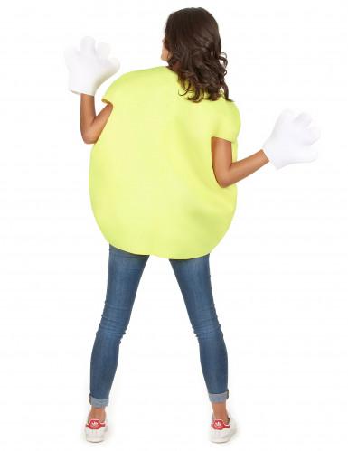 Bonbon-Kostüm in Gelb für Erwachsene-5