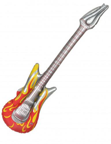 Aufblasbare Rock-Gitarre Einheitsgröße