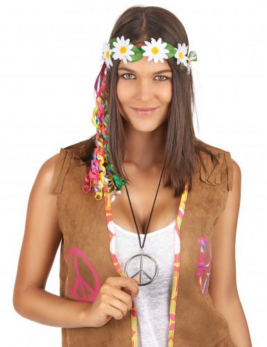 Hippie-Kette aus Metall für Erwachsene-1