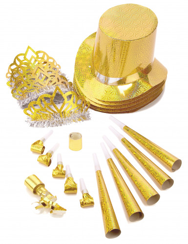 Goldenes Spaßartikel Parts-Set