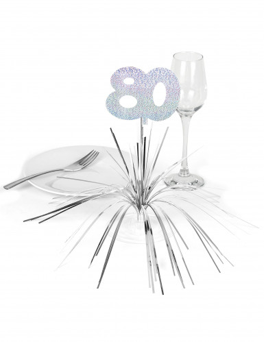 Tischaufsteller - Zahl 80-1