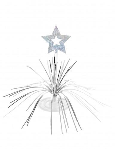 Tischaufsteller - Stern in Silbern