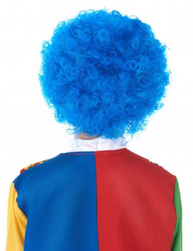 Blaue Clowns-Perücke für Kinder-1