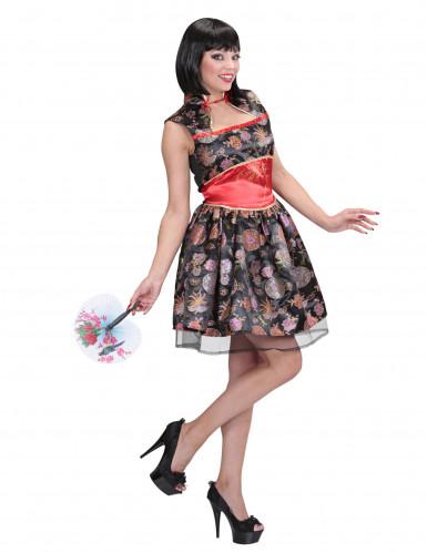 Chinesin-Kleid als Kostüm für Damen
