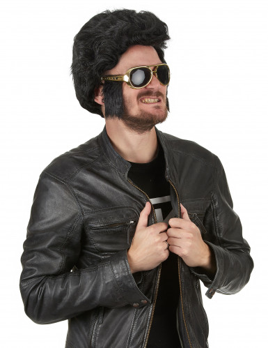 Sonnenbrille mit Koteletten - Rock 'n' Roll-1