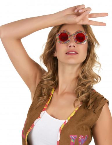 Brille in Blumenform-1