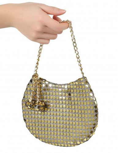 Disco Handtasche gold