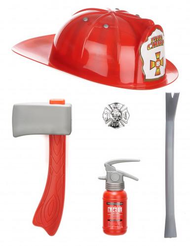 Feuerwehrmann Set für Kinder