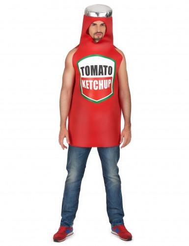 Ketchup Flasche Kostüm für Erwachsene