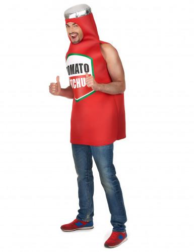 Ketchup Flasche Kostüm für Erwachsene-1