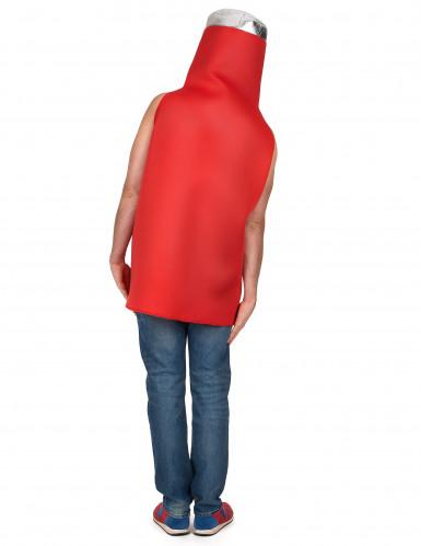 Ketchup Flasche Kostüm für Erwachsene-2