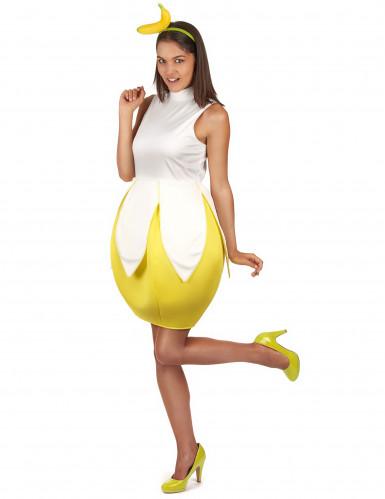 Bananenkostüm Damen-1