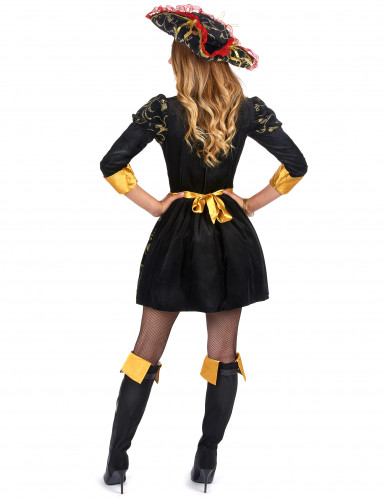 Barockes Piratenkostüm für Damen-1