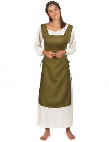 Mittelalterliche Bäuerinnen Kostüm