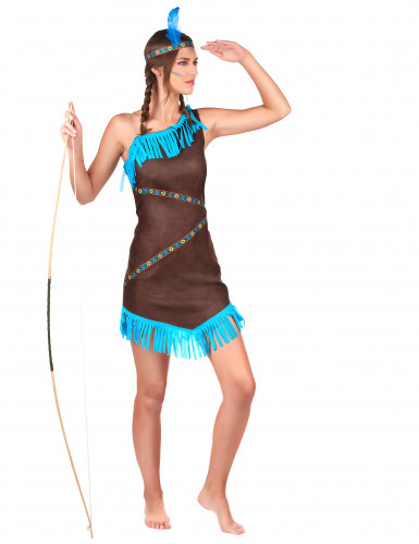 Indianerinnen Kostüm-2