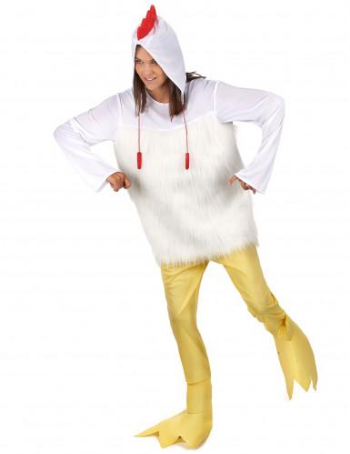 Hahnen Kostüm für Erwachsene-2