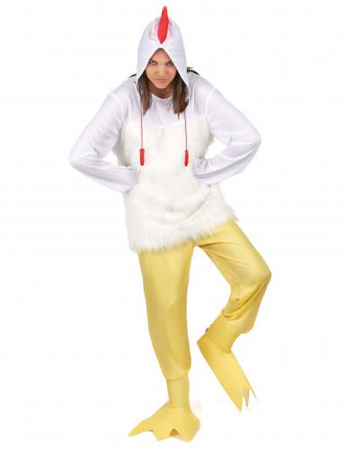 Hahnen Kostüm für Erwachsene-5