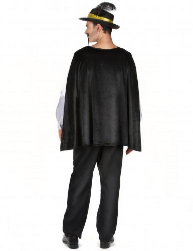 Musketier Kostüm für Herren mit schwarzem Hut-2