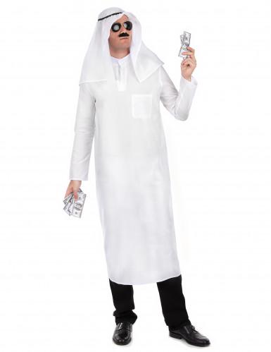 Arabischer Scheich-Verkleidung für Herren Einheitsgröße