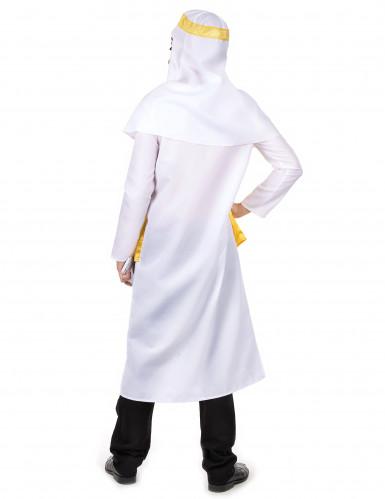 Arabischer Scheich-Verkleidung für Herren in gelb-weiß-2