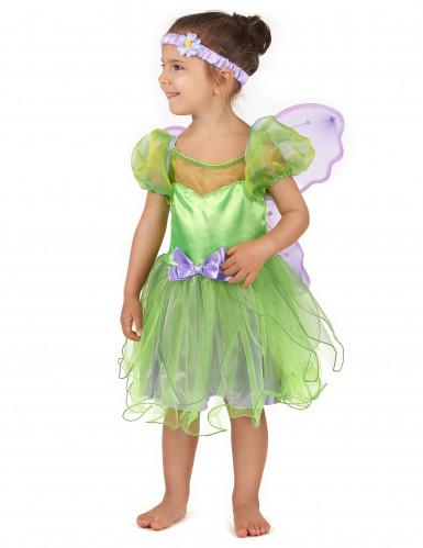 Feen-Kostüm grün für Mädchen-1