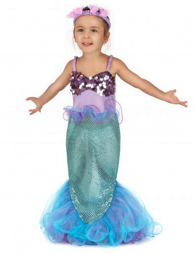 Meerjungfrau-Kostüm für Mädchen