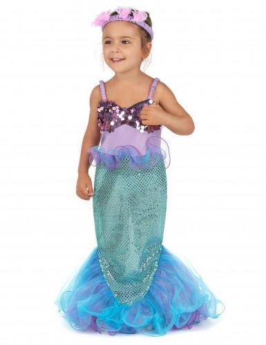 Meerjungfrau-Kostüm für Mädchen-2