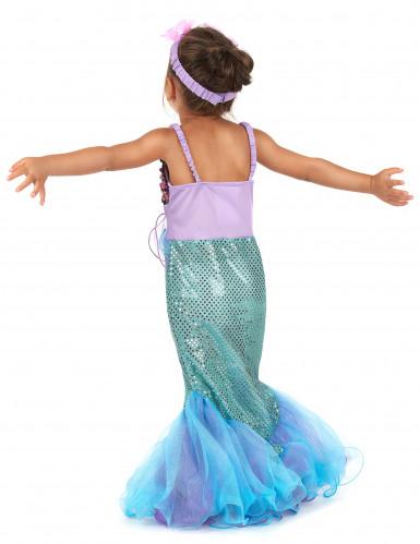 Meerjungfrau-Kostüm für Mädchen-1