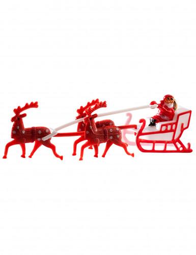Weihnachtsfigur mit Rentieren