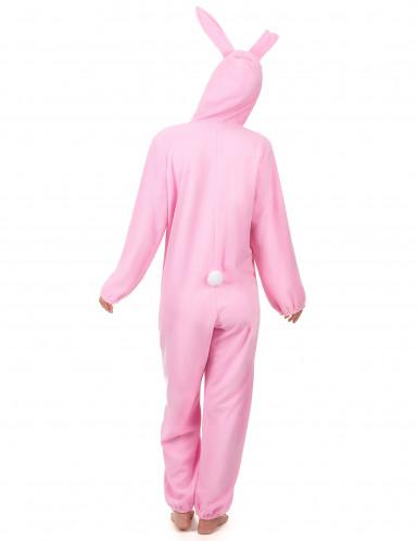 Rosa Hase-Kostüm für Damen-2