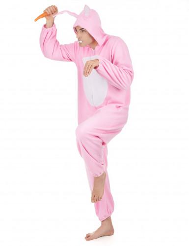 Rosa Hase-Kostüm für Herren-1