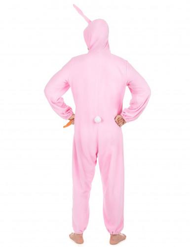 Rosa Hase-Kostüm für Herren-2