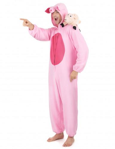 Schwein-Kostüm für Damen-1