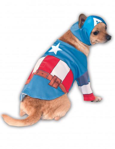 Captain America™ Kostüm für Hunde