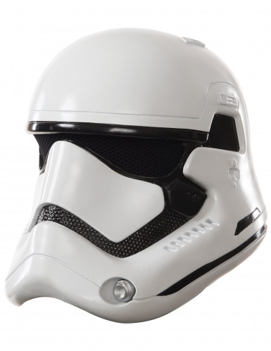 Weiße Star Wars™ Stormtrooper Maske für Erwachsene - 2-teilig