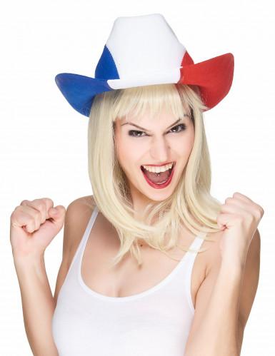 Frankreich Fan Cowboy-Hut-1