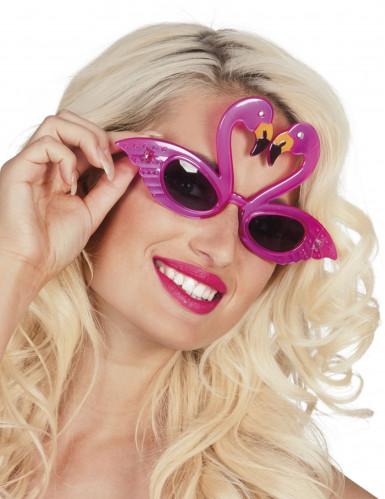 Flamingo-Brille für Erwachsene