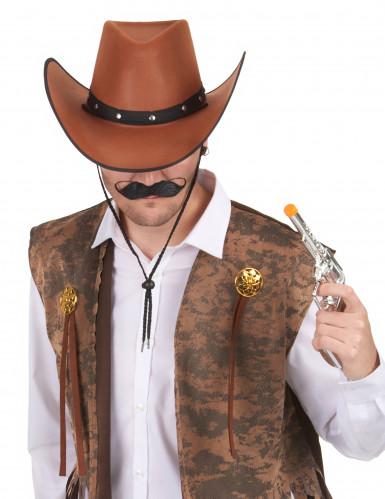 Brauner Cowboy-Hut für Herren-1