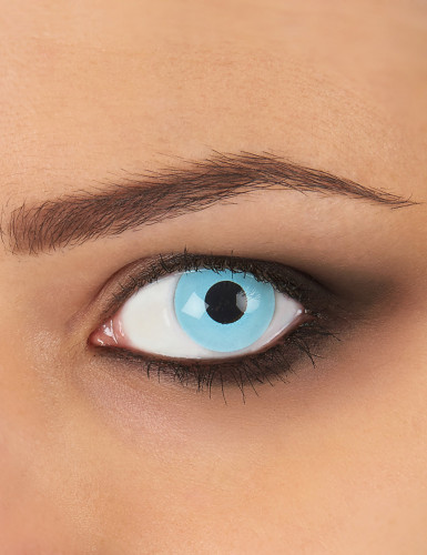 Gletscherblaue Kontaktlinsen