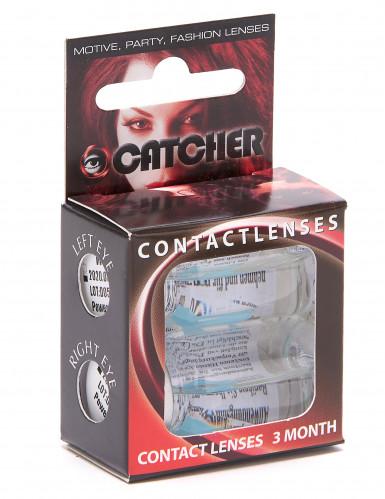 Gletscherblaue Kontaktlinsen-1