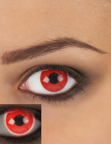 Kontaktlinsen blutrot 14,5mm