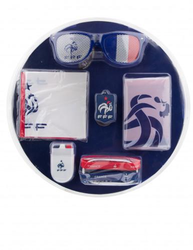 Frankreich Fan Accessoires Set FFF™