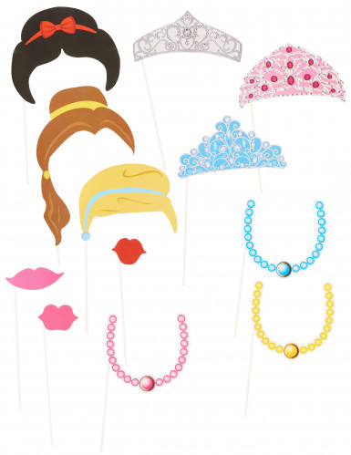 Prinzessin Photobooth-Set
