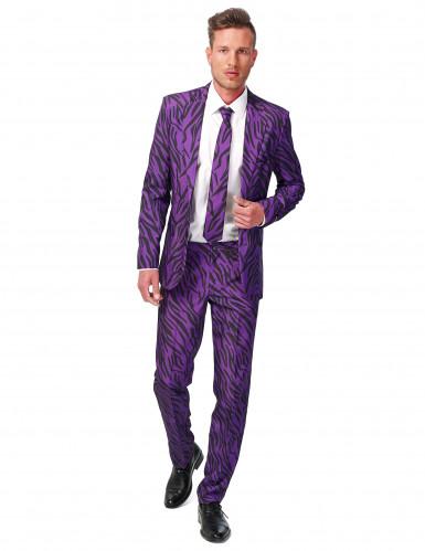 Violetter Tiger-Anzug Suitmaster™ für Herren