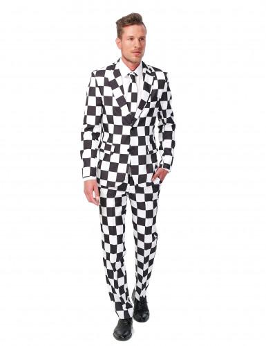 Schwarz-weißer Suitmeister™ Anzug