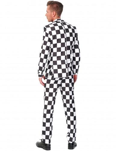 Schwarz-weißer Suitmeister™ Anzug-1