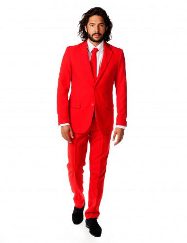 Knallroter Opposuits™ Anzug Red Devil