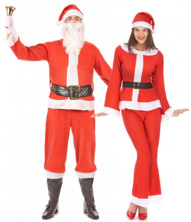 Weihnachtsmann und Frau Kostüm